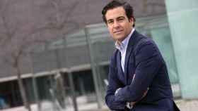 El nuevo presidente del ICO, Pablo Zalba, en Pamplona, su ciudad natal.