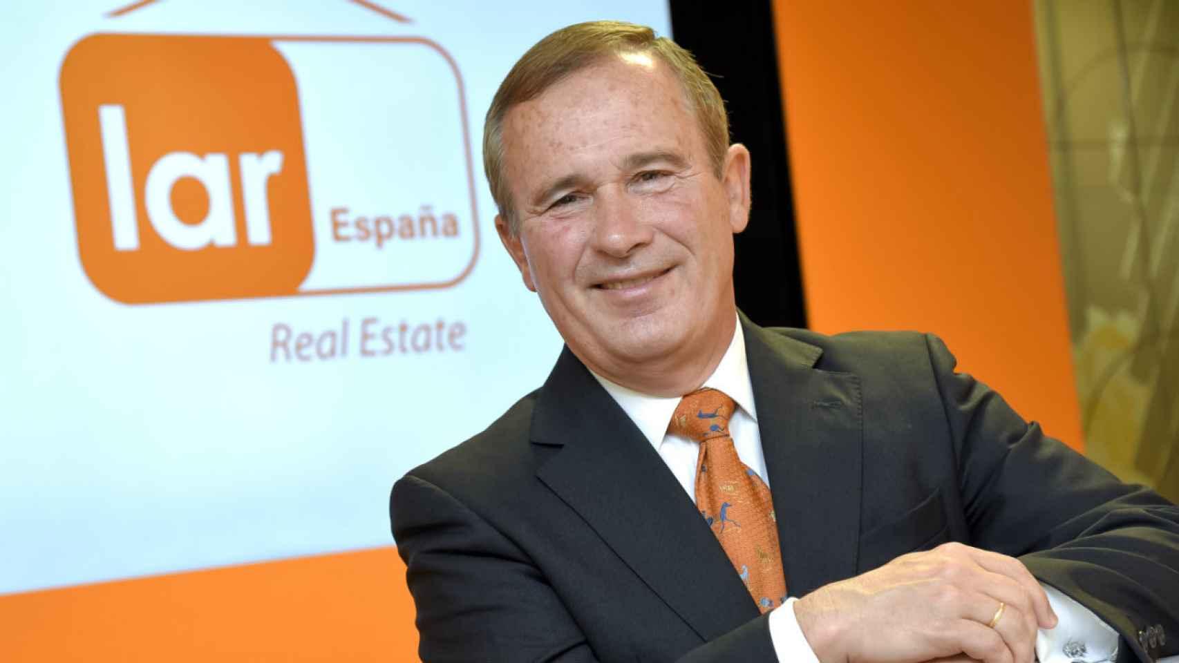 José Luis del Valle, presidente de Lar.