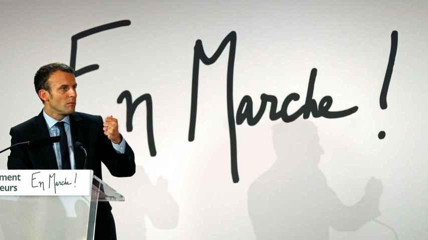 Macron fundó su movimiento En Marcha el pasado abril, siendo aún ministro de Economía.