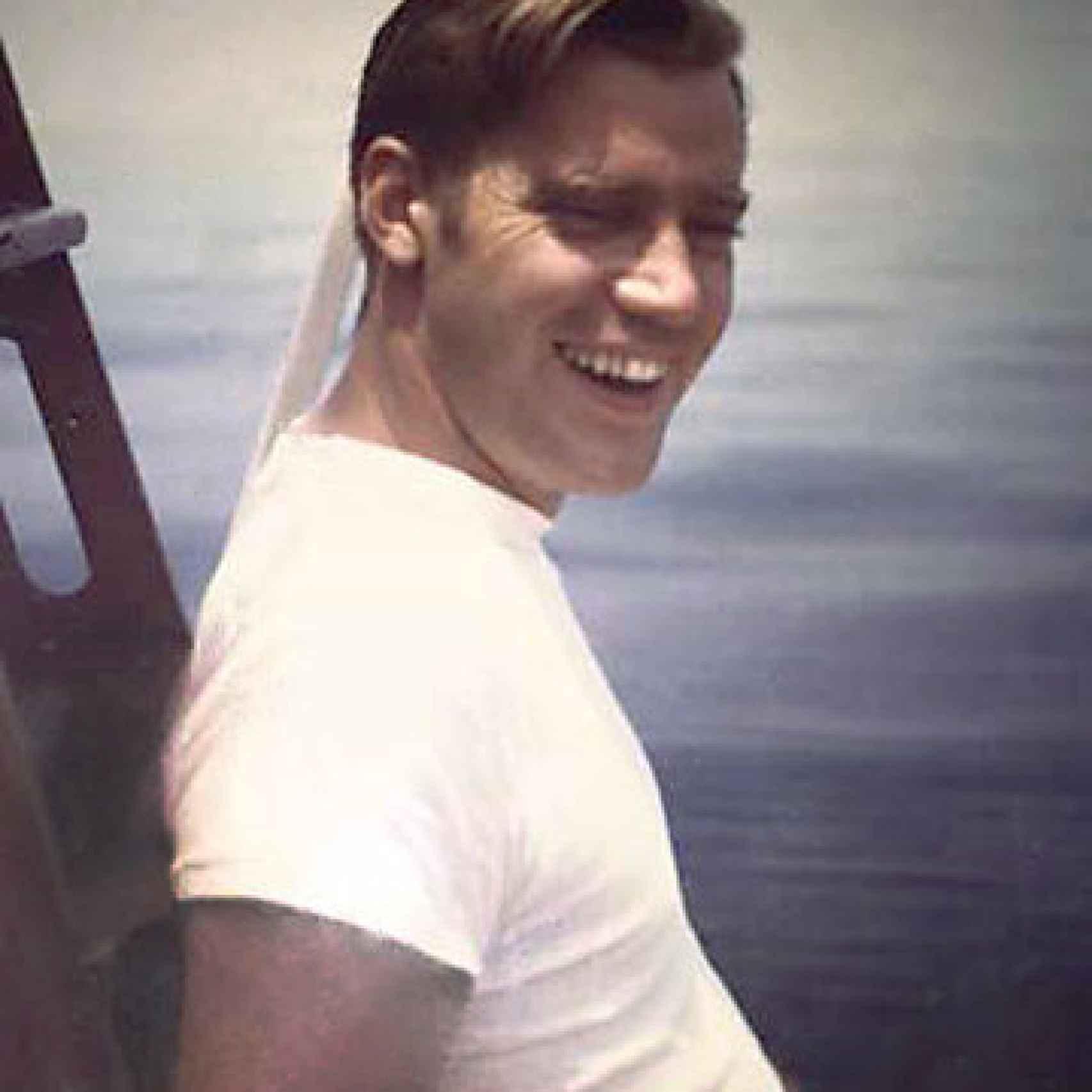 El hermano mayor de Donald Trump falleció en 1981. En la imagen, Freddy de joven, en los 60.