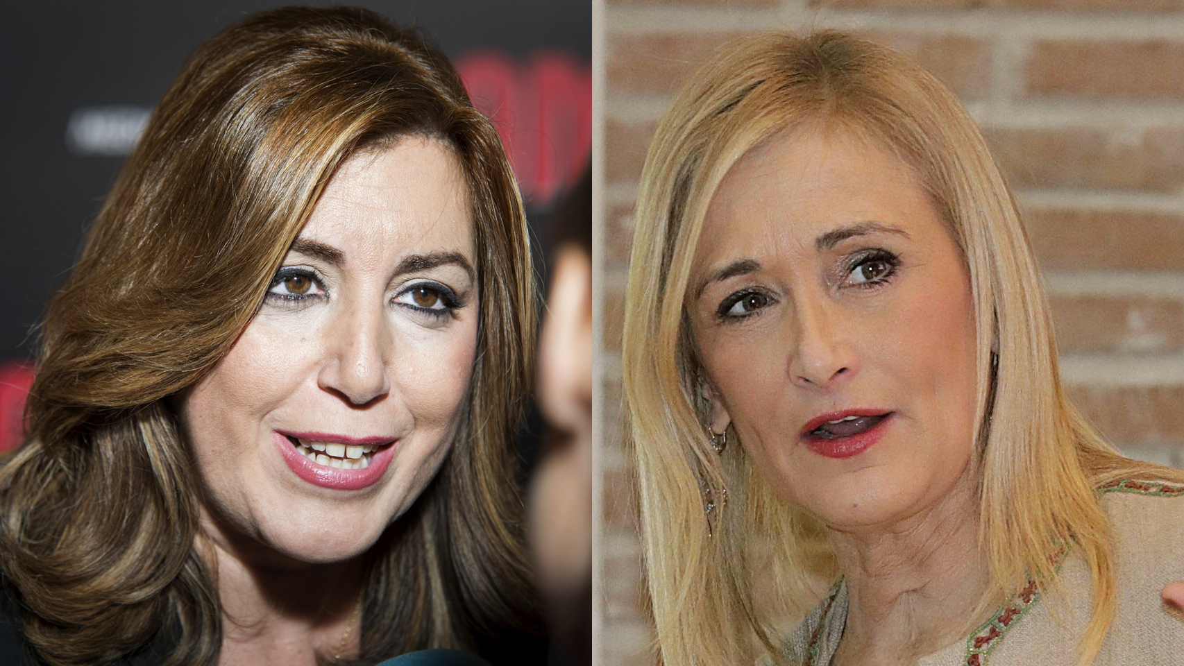 Susana Díaz y Cristina Cifuentes, enfrentadas.