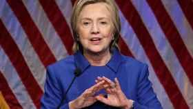 Hillary Clinton, en su primer discurso tras la derrota.
