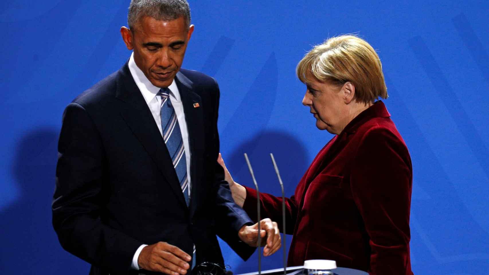 Merkel es vista como la nueva líder del mundo liberal.