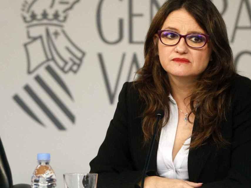 Mónica Oltra es la consejera de igualdad, que gestiona las ayudas.
