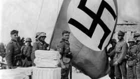 La toma de la Acrópolis, en 1941, por el ejército nazi.