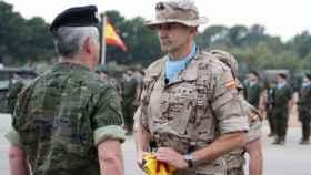 El coronel Vázquez de Prada ha estado al frente del contingente español en Irak los últimos 6 meses.