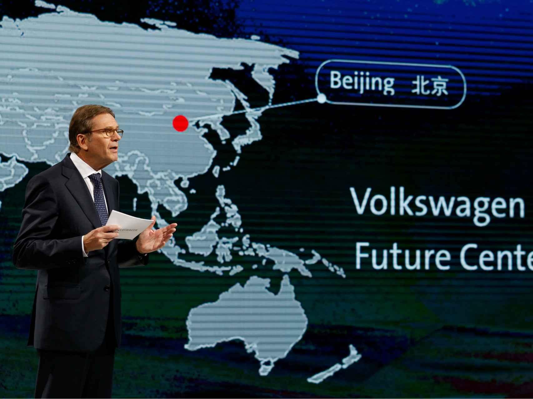China será junto con Europa un foco para la nueva Volkswagen.