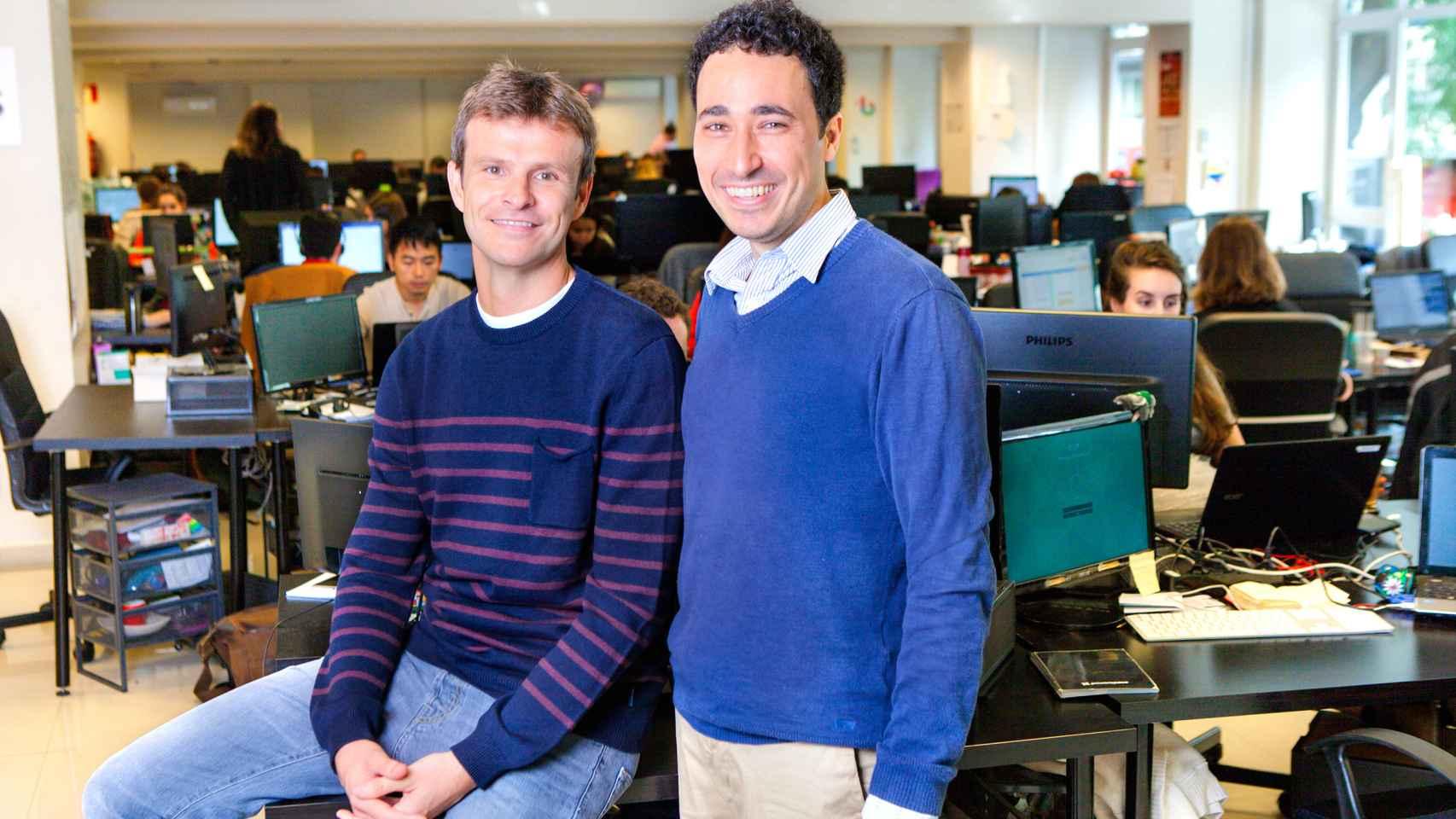 Los cofundadores de Ticketbis, Jon Uriarte y Ander Michelena.