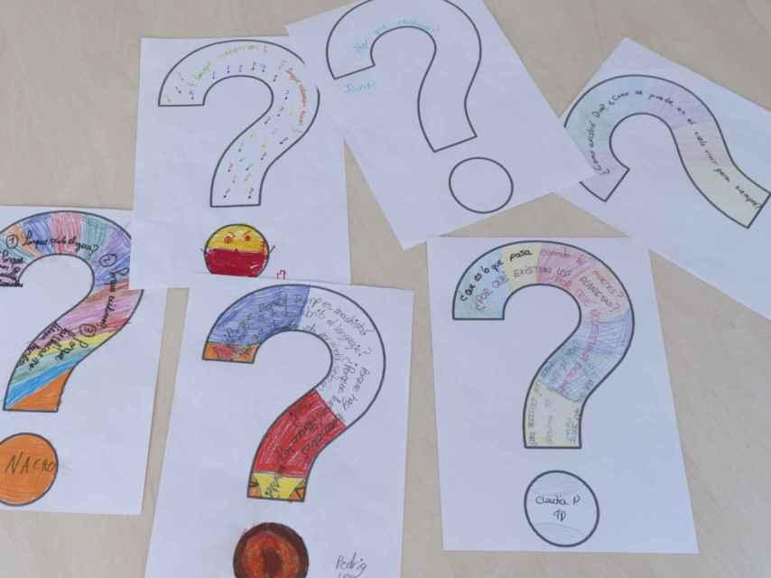 Preguntas, preguntas y preguntas que los estudiantes se hacen en estas clases