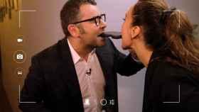 Jorge Javier y Mónica comparten confesiones (y palmera de chocolate).