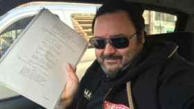 El director de cine porno, Ignacio Allende, Torbe.