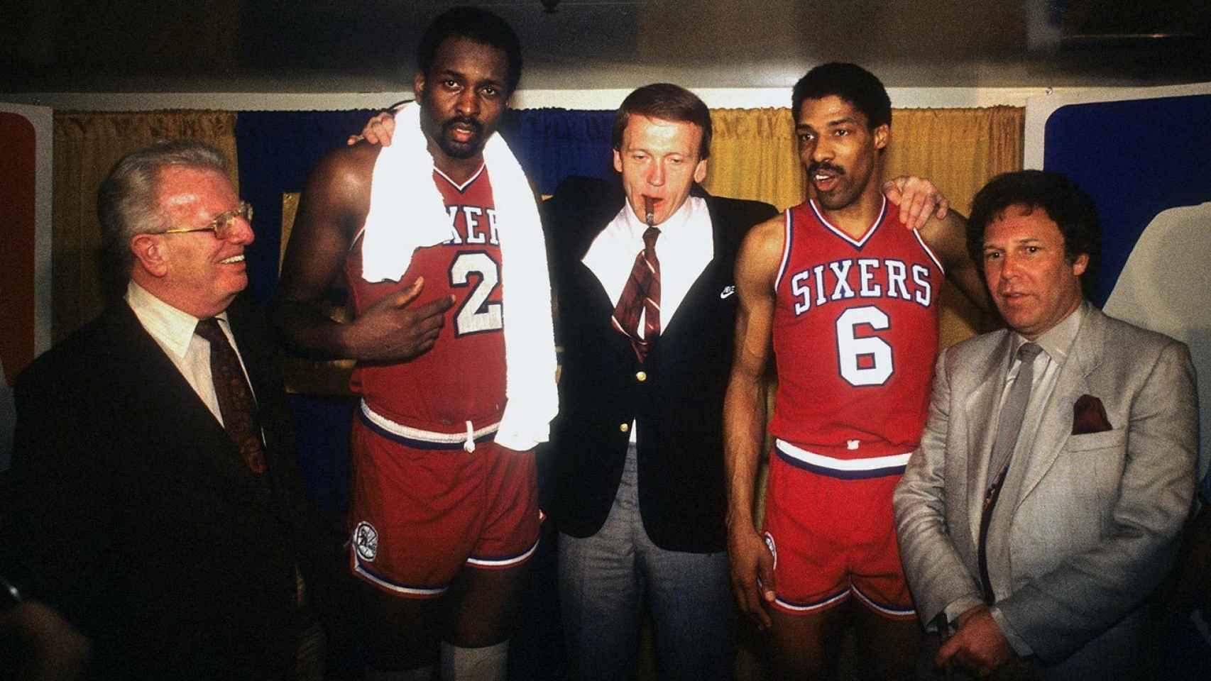 El comisionado con los Sixers de Erving y Moses Malone, campeones en el 83.