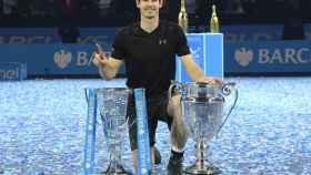 Andy Murray tras ganar la Copa de Maestros.