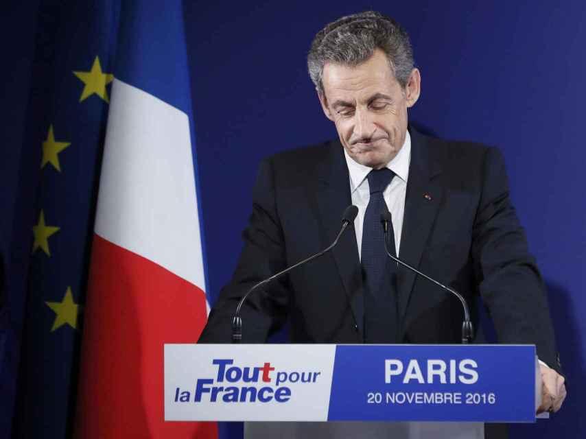 Sarkozy fue derrotado en las primarias conservadoras de cara a las presidenciales de 2017.
