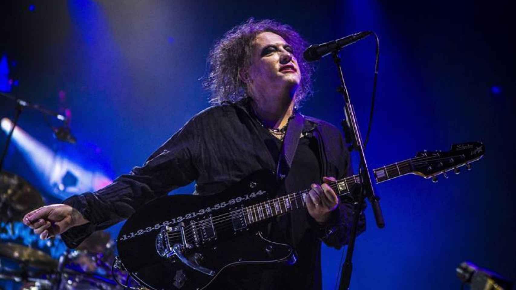 Robert Smith se dejó la piel en las más de dos horas de concierto en Madrid.