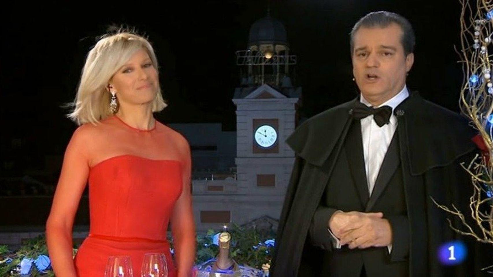 Ramón García y Anne Igartiburu.