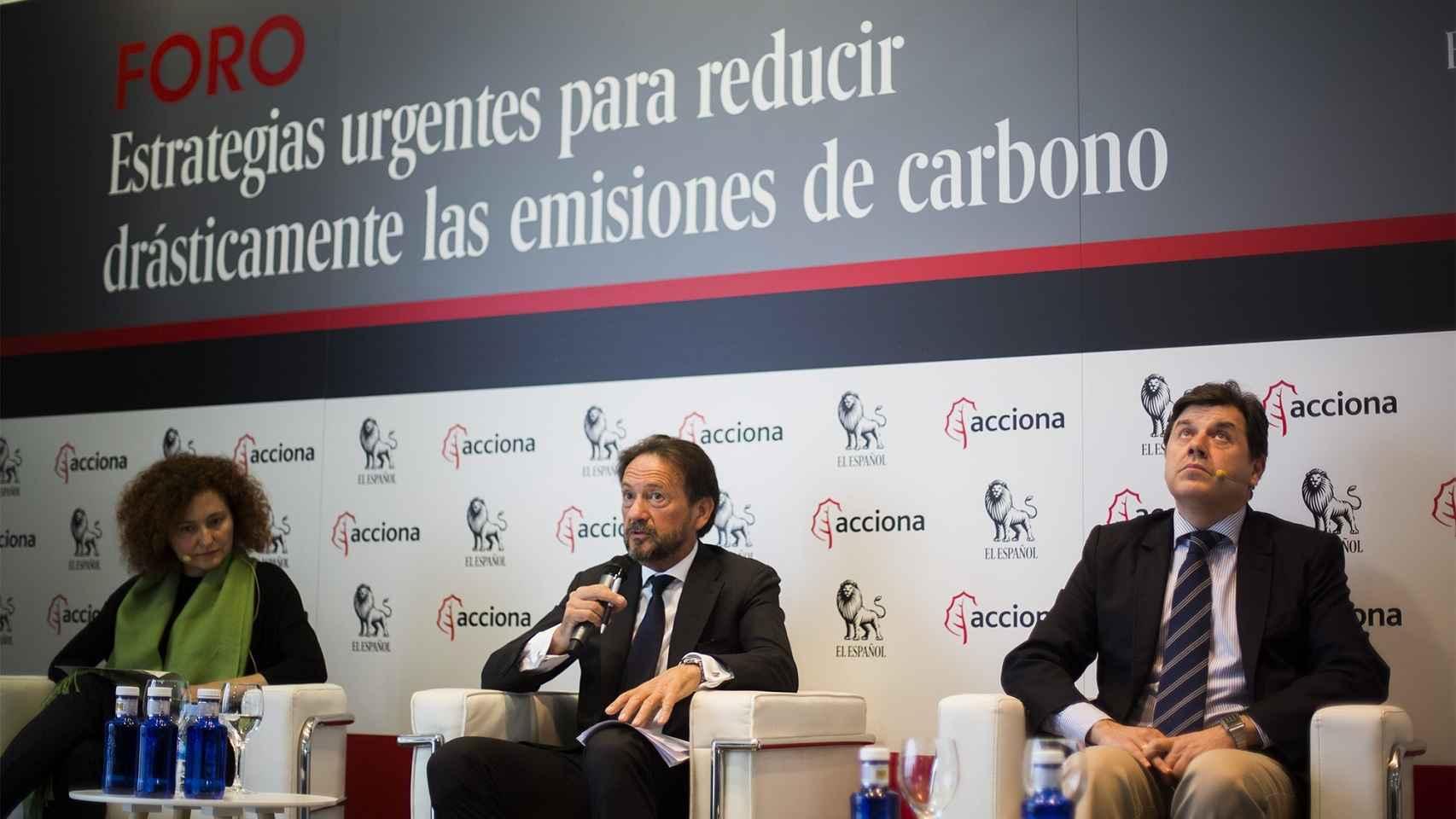 Laura Martín Murillo, Juan Ramón Silva y Miguel Ángel Ruiz López.