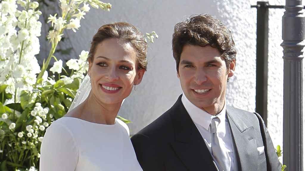 Eva González y Cayetano Rivera el día de su boda, el 6 de noviembre del año pasado.