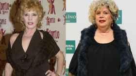 María Jiménez, antes y después.
