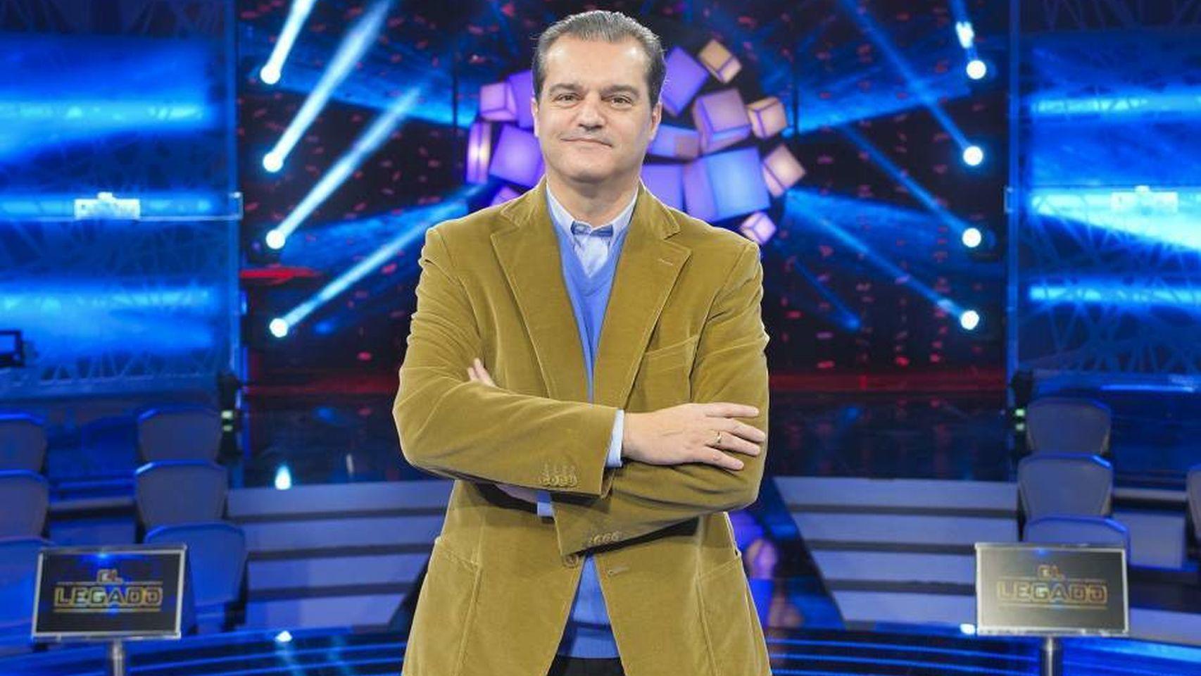 El periodista Ramón García