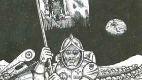 El día que Franco soñó con clavar la rojigualda a la Luna