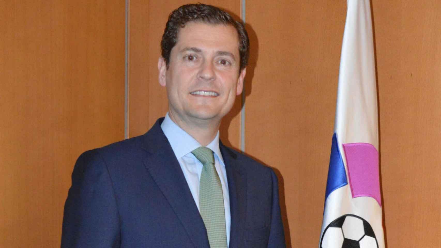 Alfredo Lorenzo, director de seguridad e integridad de la LFP.