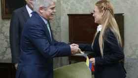 El ministro de Exteriores, Alfonso Dastis, recibe a Lilian Tintori.