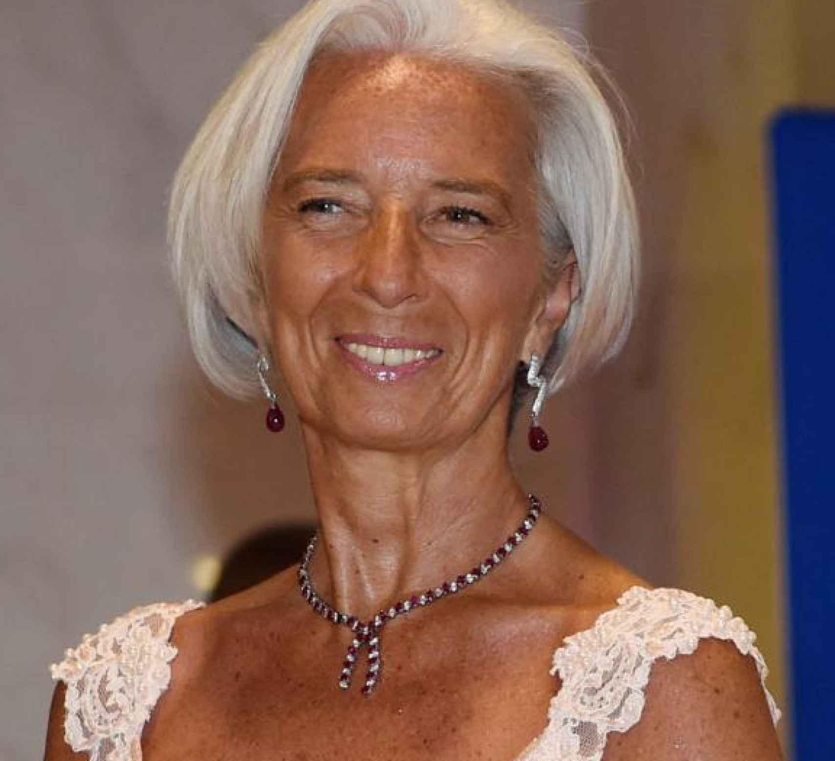 Christine Lagarde, ex directora del FMI