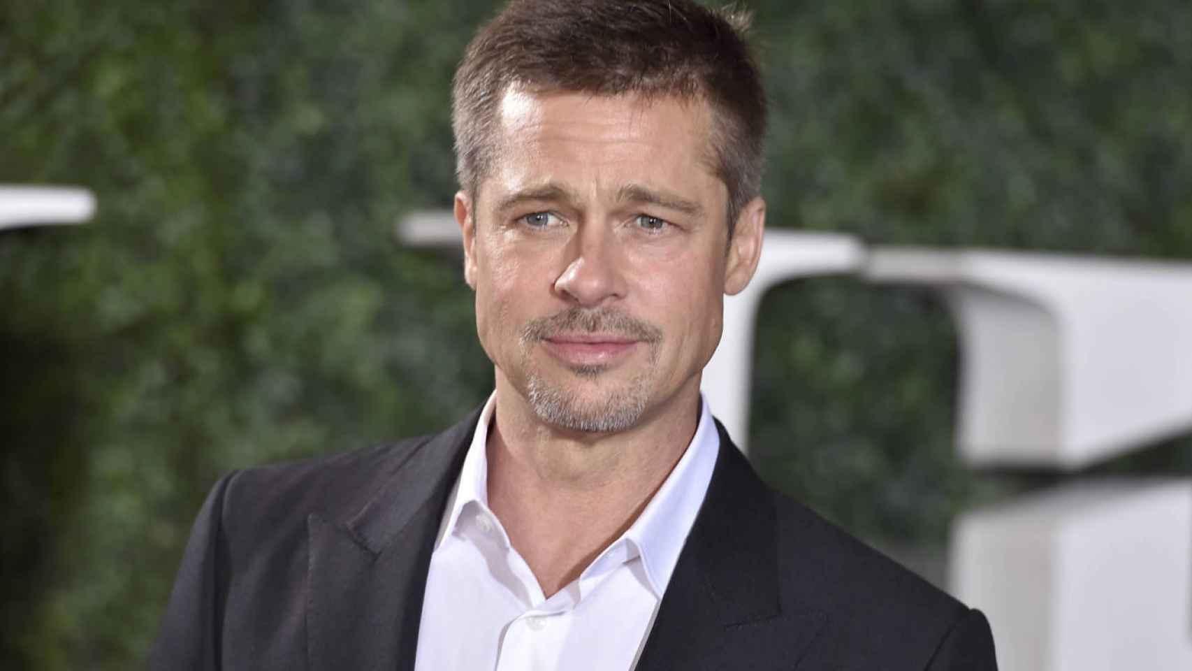 Brad Pitt en la presentación de la película en Londres.