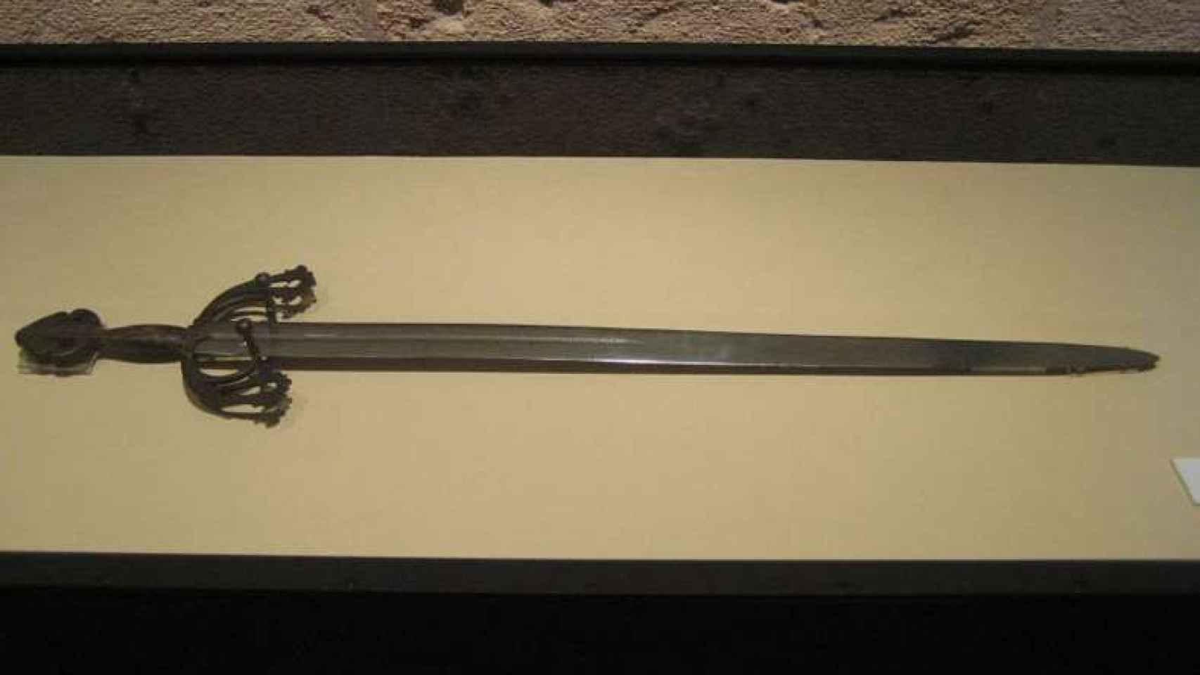 La espada Tizona en el Museo de Burgos