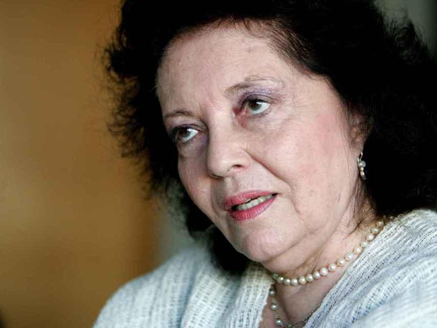La escritora, editora y promotora cultural Aitana Alberti, hija del poeta Rafael Alberti.