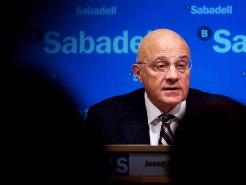Josep Oliú, presidente de Banco Sabadell.