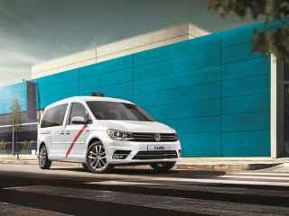 Volkswagen Caddy TGI BlueMotion, más atractivo para los taxistas