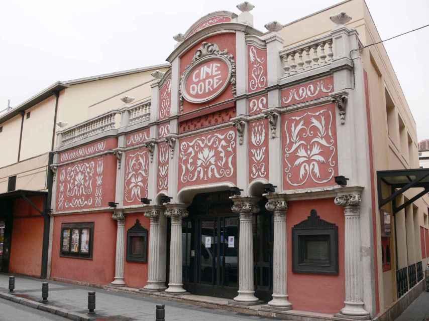 Fachada del Cine Doré, una de las sedes de Filmoteca Española. CC