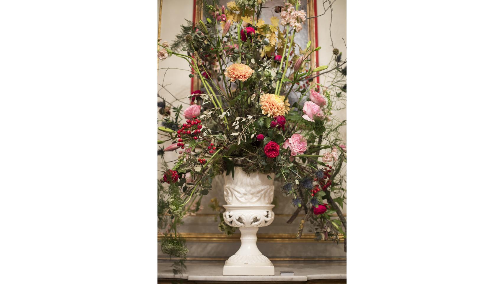 Adornos florales para tu boda.