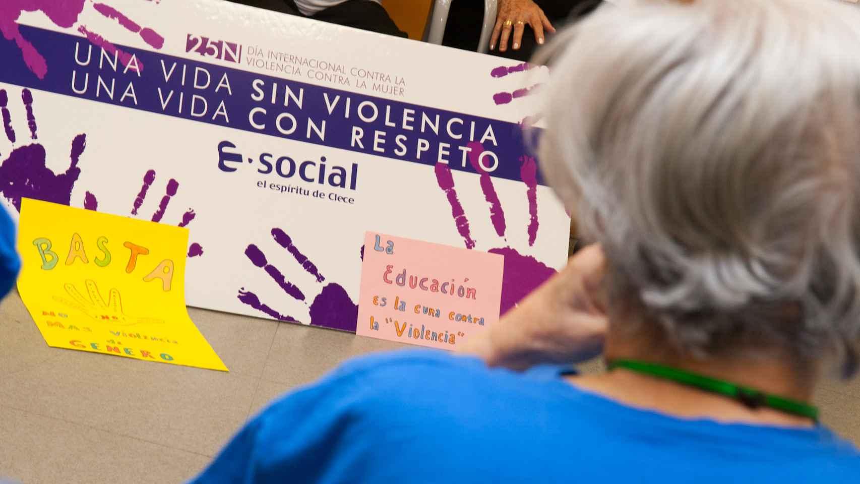 Una vida sin violencia. Una vida con respeto es el lema de la iniciativa.