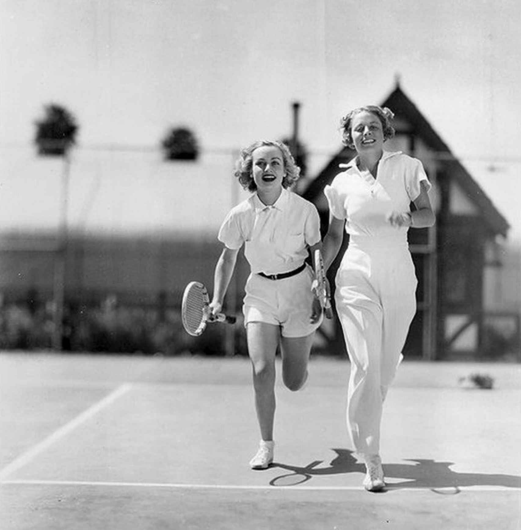 Carole Lombard y Alice Marble.