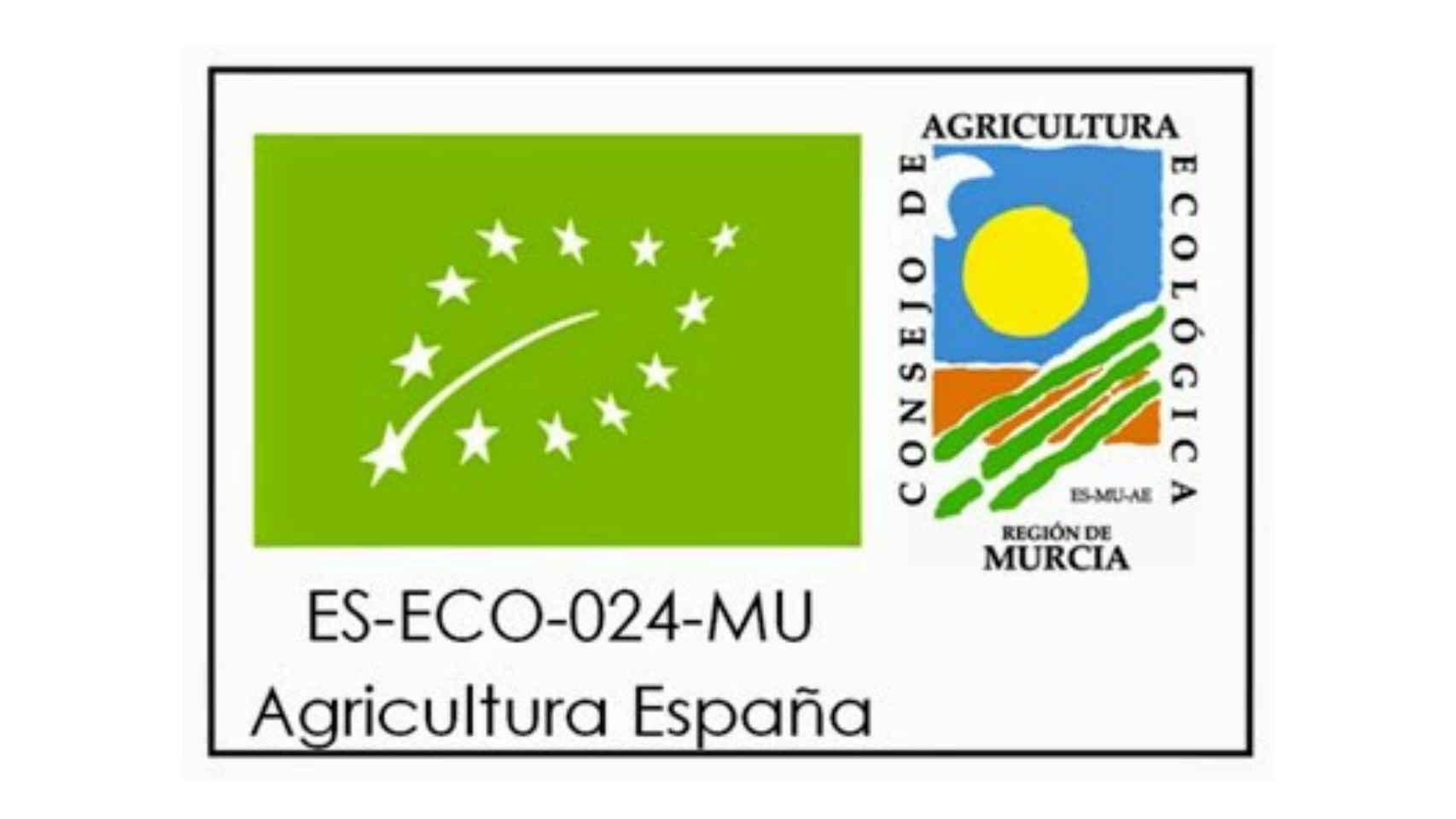 Etiquetado de la UE para distinguir los alimentos ecológicos.