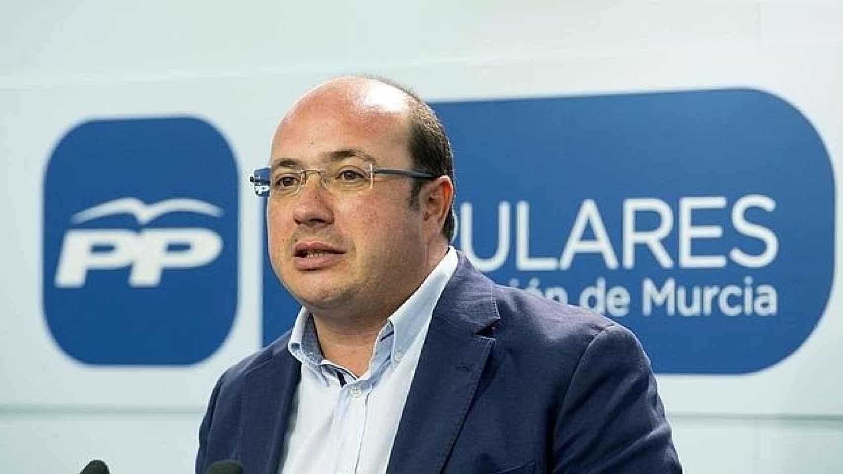 El presidente murciano, Pedro Antonio Sánchez.