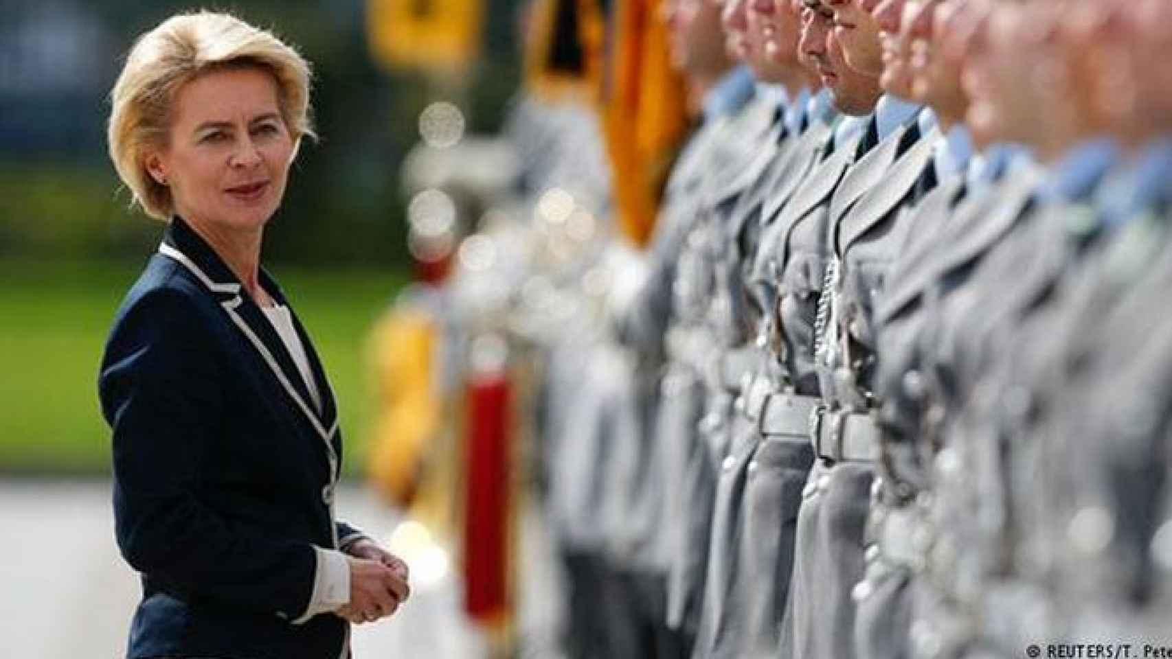 Ministra de Defensa alemana, Ursula von der Leyen.