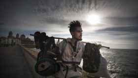 Emilio Chico, 21 años. Vive actualmente en las calles de Cádiz como opción propia.