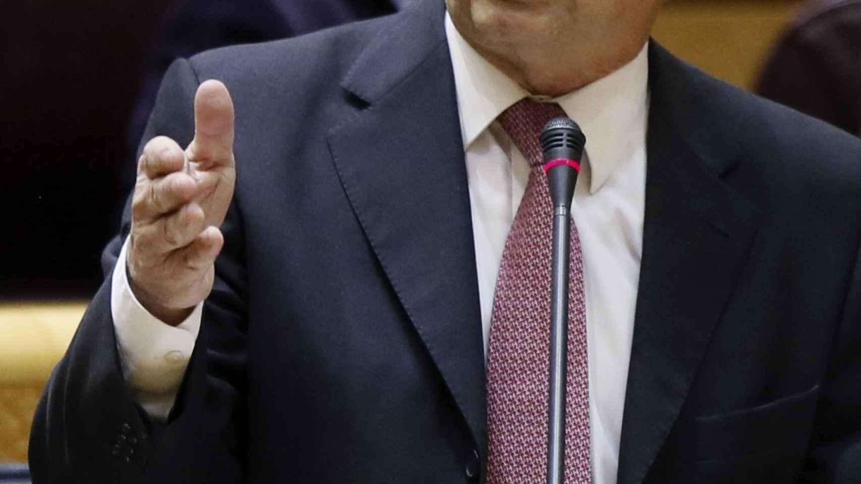 Cristóbal Montoro, en una sesión en el Congreso.