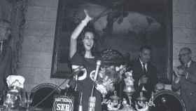 Rita Barberá fue proclamada como Musa del Humor en 1973.