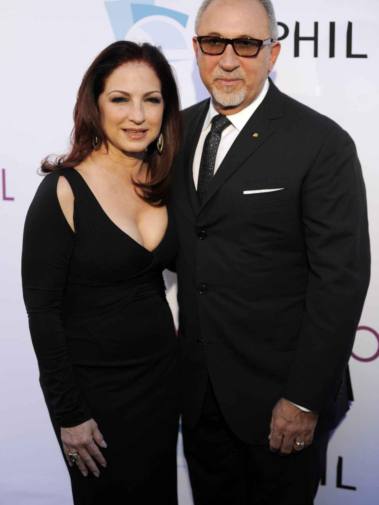 Gloria Estefan y su marido Emilio.