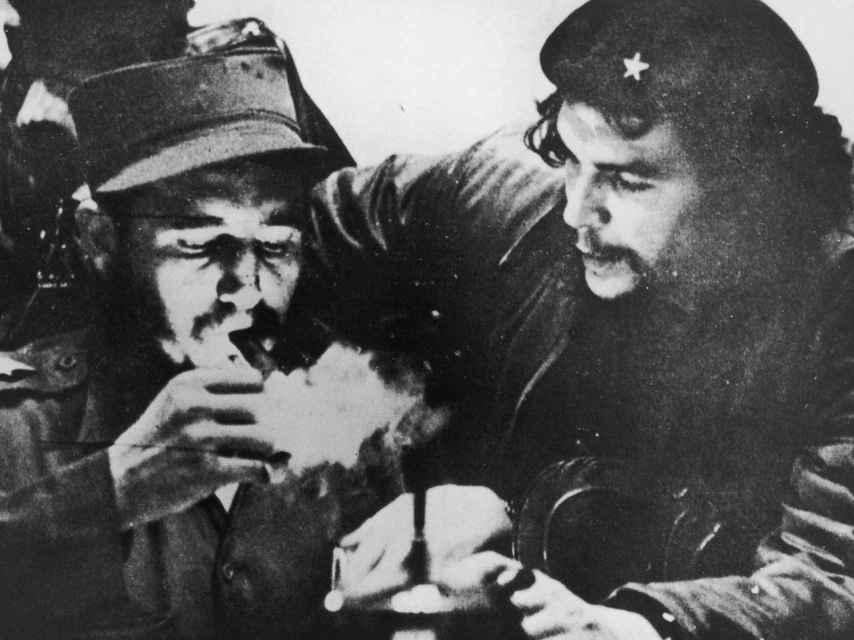Castro y El Ché Guevara.