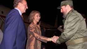 El día que Fidel coqueteó con la reina