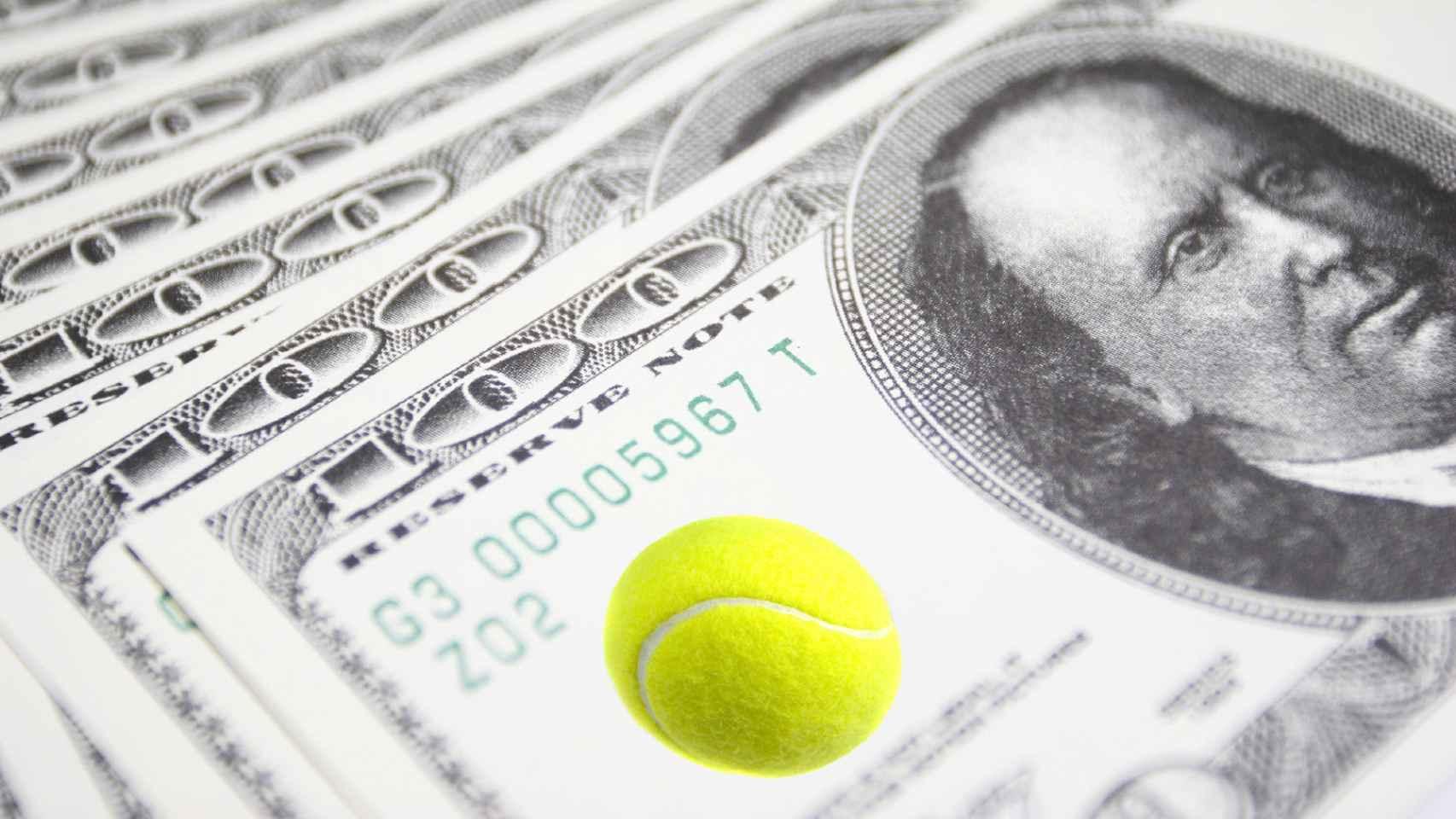 Las apuestas cada vez sonrojan más al tenis.