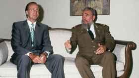 Juan Carlos I y Fidel Castro durante un Cumbre Iberoamericana.