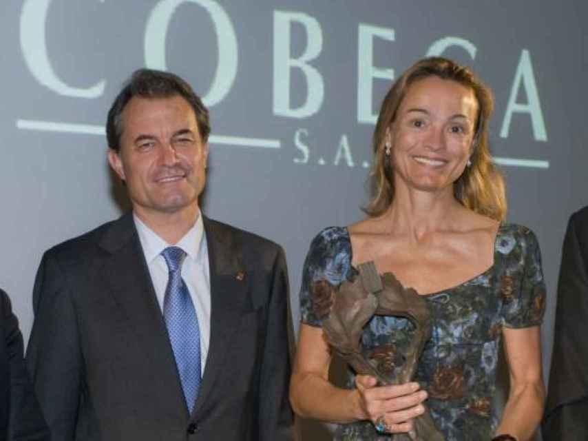 Sol Daurella con Artur Mas
