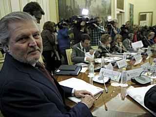 El ministro Méndez de Vigo con los consejeros autonómicos de Educación